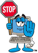 Stop Sign: Windows virtual memory waits for hard drive