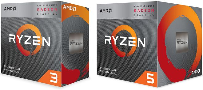 AMD Ryzen Processors with RX Vega Graphics