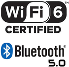 Wi-Fi 6 + Bluetooth networking