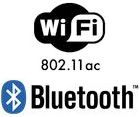 Wireless-AC + Bluetooth 5 networking