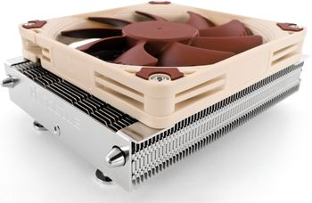 Industry-best Noctua low-profile CPU cooler