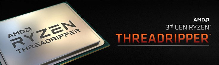3rd Gen AMD Ryzen Threadripper Processors
