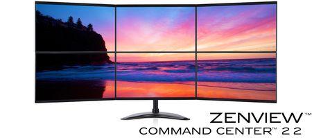 Zenview Command Center 6-Screen 3x2 Hex Monitor Arrays, 3-over-3