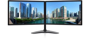 Dual Monitors: Zenview professional-grade dual-screen LCD monitors