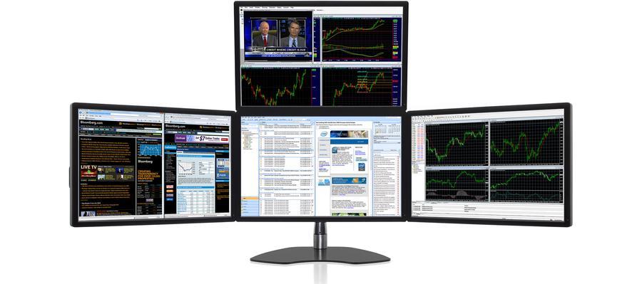 Ultraflex Apex Elite Four Screen Professional Display