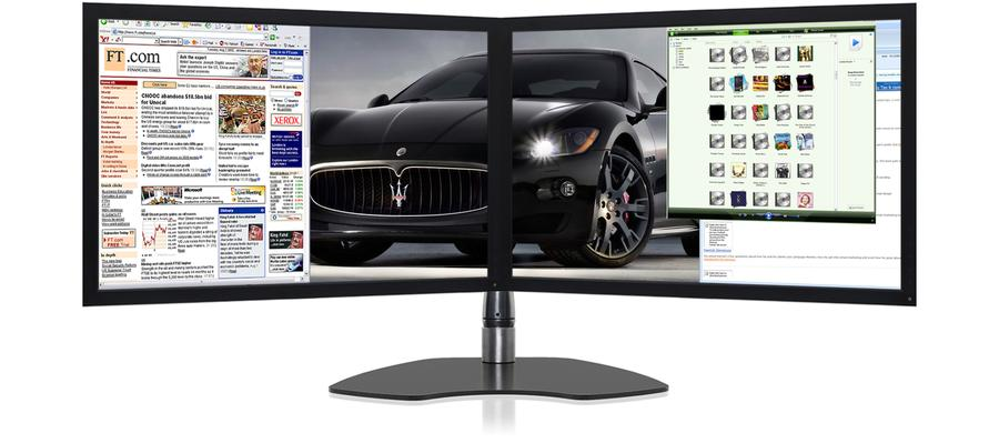 Ultraflex Duo Elite Dual Screen Professional Display With