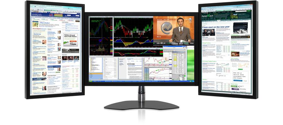 Image Gallery Multi Monitor Workstation