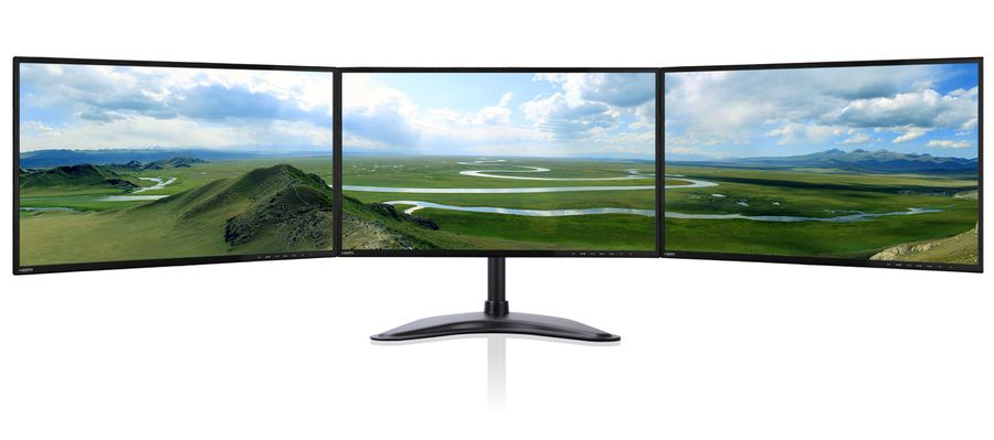 Zenview Trio 24 Ips Thin Triple Screen Professional