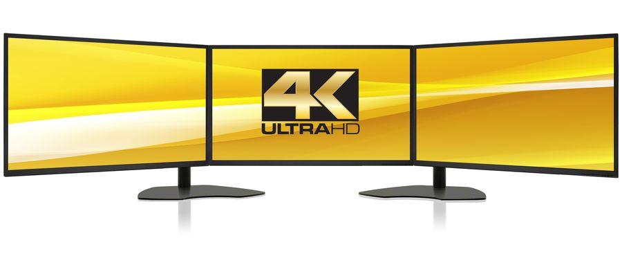 Zenview Trio 32 UHD: Triple-Screen Professional Display