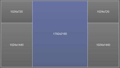 UltraView Desktop Manager: Manage Multiple Monitors & Split