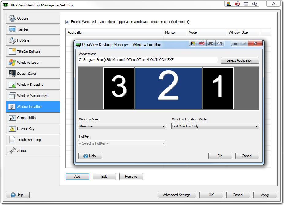 Ultraview Desktop Manager Software For Multiple Monitors