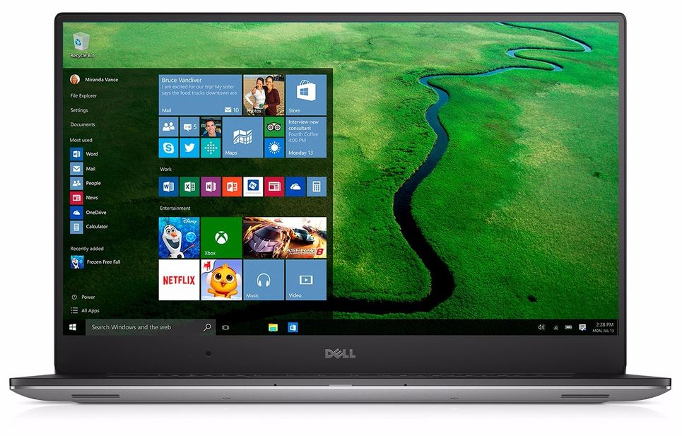 Dell Precision 5510 InfinityEdge display